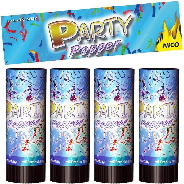 Party Popper 10cm